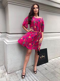 Hot Pink, Shoulder Dress, Chain, Dresses, Fashion, Vestidos, Moda, Pink, Fasion