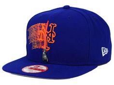 New York Mets SW X MLB Logoswipe 9FIFTY Original Fit Snapback Cap Hats