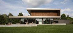 Haus P, una vivienda en Alemania iluminada como una escultura. | diariodesign.com