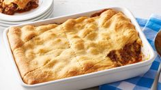 Savory barbecue sauce mixed with ground beef and topped with a buttery crescent roll crust is sure to impress your family and guests. With just a handful of ingredients, what's not to love?
