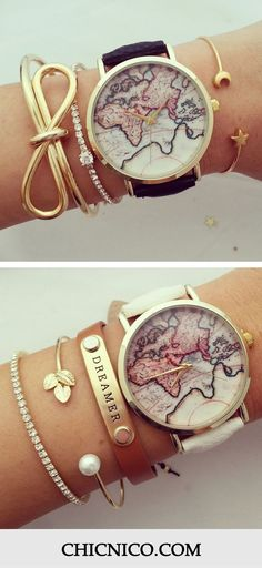Vintage Watch Only $21.99! Here are more amazing accessories for you at www.chicnico.com