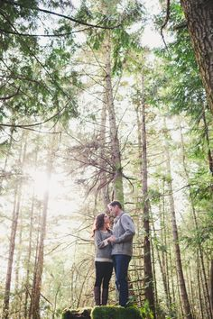 East Sooke Park engagement photography by Lara Eichhorn Photography.