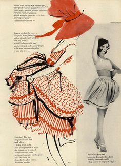 Q's Daydream: Inspiration Friday, Mademoiselle Magazine 1960