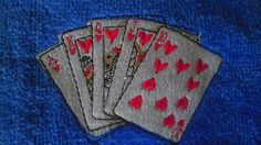 #Poker Towel, #Gambling #Cards, Fingertip Towel, Sweat Rag