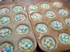 Easter Nest Rice Krispies Treats from Food.com: These are such a big hit with all kids-adults too! :)