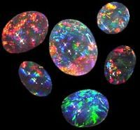 Opals ~ all the birthstones in 1 magnificent jewel.