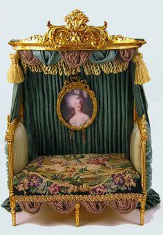 Ladies Boudoir 1 (Louis XVI day bed by June Clinkscales)