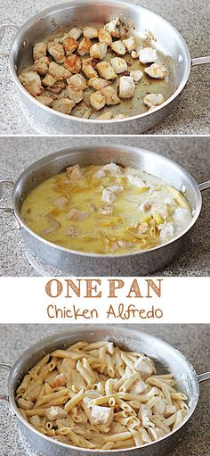 One-Pan Chicken Alfredo | 21 Simple One-Pot Pastas