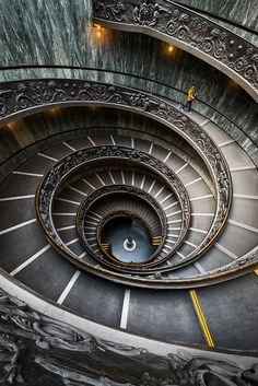 Downward Spiral at the Vatican Museum