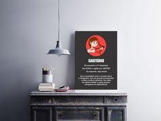 Temos quadros com moldura e vidro protetor e placas decorativas em MDF.   Visite nossa loja e conheça nossos diversos modelos.   Loja virtual: www.arteemposter.com.br   Facebook: fb.com/arteemposter   Instagram: instagram.com/rogergon1975   #placa #adesivo #poster #quadro #vidro #parede #moldura
