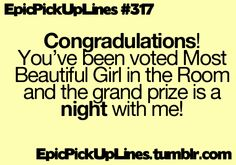 cute pick up line | Tumblr