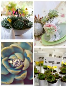 flowers for 2014 weddings ideas | We just love these ideas, cute table settings, wedding favors – and ...