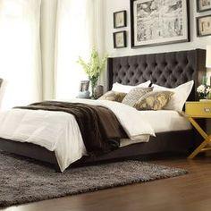 Norton Bed - Earth Tone Colors