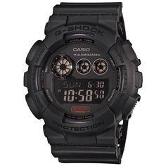 Casio G-Shock GD-120MB-1ER 'Military Black' Watch (Military Black)