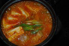 Kimchi JJigae (Kimchi Stew) // KFood