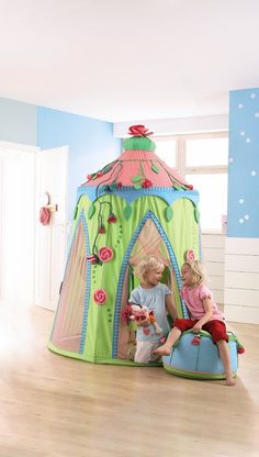Haba Erfinder F 252 R Kinder Play Tent Rose Fairy Swing