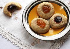 Hazelnut Rosemary Jam Cookies