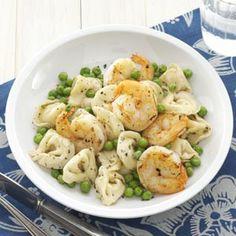 Shrimp Tortellini Pasta Toss Recipe from Taste of Home