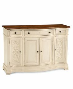 Coventry Credenza, Painted Buffet.  Was $1,499.00 now $499.00 at Macy's.