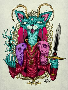 MASTERCAT by zookrupula , via Behance