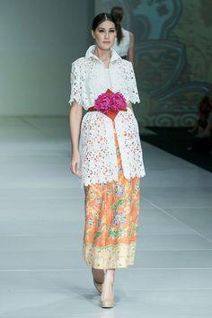 IPMI Trend Show 2015, Stephanus Hamy – The Actual Style Blouse Batik, Batik Dress, Lace Dress, Dress Up, Kimono, Kebaya Lace, Kebaya Dress, Batik Kebaya, Batik Fashion