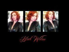 Avengers: Black Widow Cosplay Makeup Tutorial