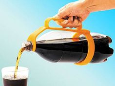 Creative Kitchen Inventions- Would be great for parties or cookouts! Yeah i try to pour things and im such a clutz and i end up spillijg it everywhere