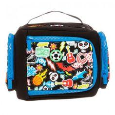 NOW $15.00 (Was $26.95) on Neoprene Badge Lunchbox @ Smiggle - Bargain Bro