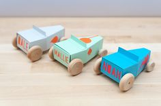 Design Your Own Personalized Paper Hot Rod Kit by Handmade Charlotte #Cricut