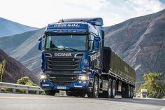 NOTICIAS | Transporte Carga de Argentina y Chile    CRUCE DE LOS ANDES: Máximo rendimiento a bordo de un Scania V8