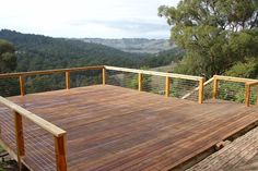 Need to do vertical cables to comply with Australian standards. Patio Railing, Wood Railing, Stainless Steel Balustrade, Stainless Steel Cable, Outdoor Spaces, Outdoor Living, Outdoor Decor, Outdoor Ideas, Balustrade Design