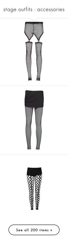 """""""stage outfits : accessories"""" by promise-official ❤ liked on Polyvore featuring kpop, accessories, stage, performance, chokers, intimates, hosiery, tights, leggings and pants"""