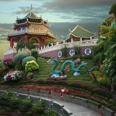 Cebu Taoist Temple @ Philippines  One of the most colorful sites I visited.
