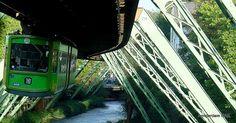 Wuppertal Schwebebahn (hanging tramway)   Flickr - Photo Sharing!