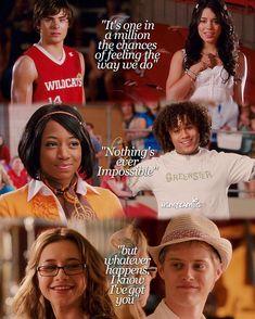 Troy & Gabriella, Chad & Taylor, Ryan & Kelsi!! #OnceAWildcat #AlwaysAWildcat