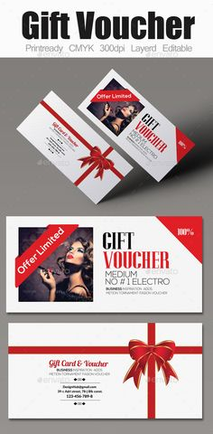 Multi Use Business Gift Voucher Template #design Download: http://graphicriver.net/item/multi-use-business-gift-voucher/12210473?ref=ksioks