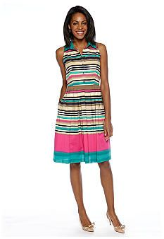 Jny collection color block dress