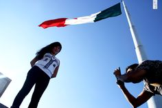 Zona Universitaria, asta bandera, SLP Fotografía: Kris Hdz.