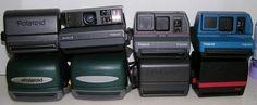 Polaroid Close Up Spectra 2 Cool Cam 600 Impulse Lot of 8 Instant Film Cameras #Polaroid