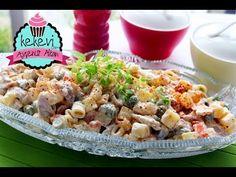 Tavuklu Kolay Makarna Salatası / Ayşenur Altan Yemek Tarifleri - YouTube