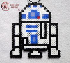 Star Wars R2 D2 R2D2 Necklace Bead Sprite Perler Art Decoration   eBay