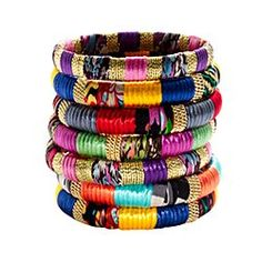 Stackable bangles. I live these