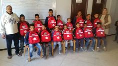 SchoolBags distributed to children in Morocco