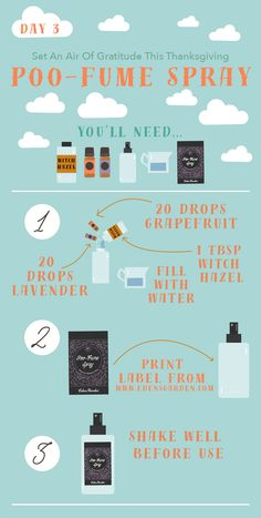 We all have to visit the porcelain throne sooner or later. This Poo-Fume essential oil DIY by Edens Garden will make sure no one else has to know about it! Edens Garden Oils, Edens Garden Essential Oils, Essential Oil Uses, Doterra Essential Oils, Young Living Oils, Young Living Essential Oils, Poop Spray, Do It Yourself Baby, Perfume