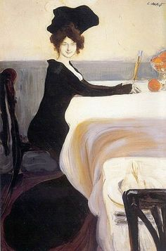 The Supper (1902) by Leon Bakst