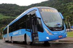 Mercedes Benz/Marcopolo Articulated bus in Rio de Janeiro under the WorldCup