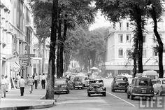 #Saigon in the #60s - Tu Do Street