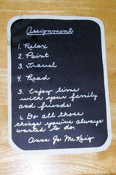 Retirement Teacher Report Card | Chalkboard scrapbook page created for a teacher's retirement scrapbook ...