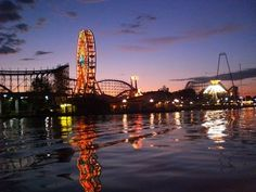 So many night spent floating on the boat looking at this very sight. Indiana Beach