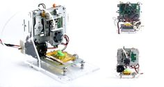 Arduino printers are a rare breed indeed. But if you want an Arduino printer and have some tinkering skills, you should take a look at these DIY printer projects. Projets Raspberry Pi, Routeur Cnc, Cnc Router, 3d Printer Designs, Diy 3d Printer, Pc Parts, Diy Tech, Pi Projects, Robotics Projects